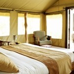 A Sarova  Mara  Game Camp: Club Tent