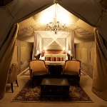 Serena Selous Luxury Camp: Luxury Tent